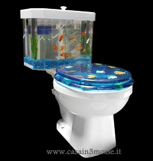 Acquari strani e particolari altri arredi for Arredamento acquario