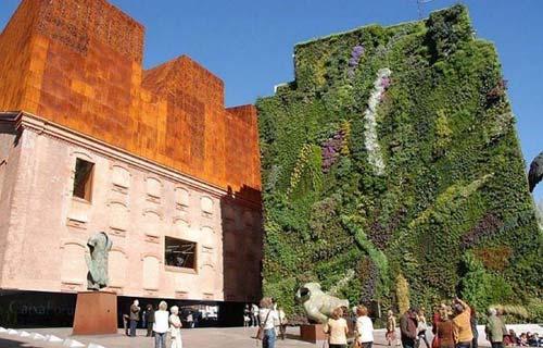 Giardini verticali domestici - Giardino verticale madrid ...
