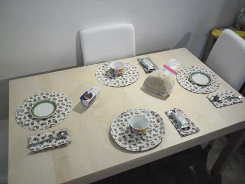 W la tavola all americana for Ikea tovagliette