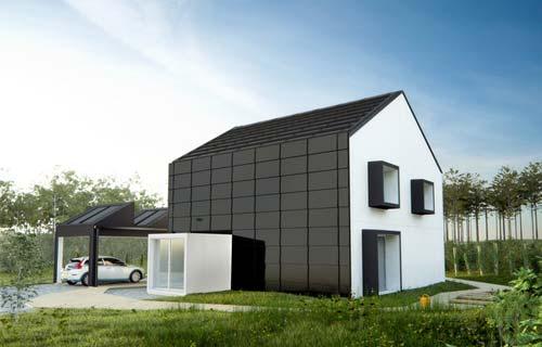 Casa passiva for Progettazione passiva della cabina solare