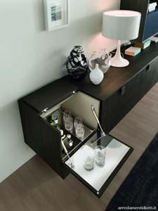 Angolo bar salotto living - Mobili bar da appartamento ...