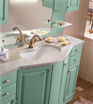 Bagno classico arredo bagno per arredare casa - Rivestimento bagno classico ...