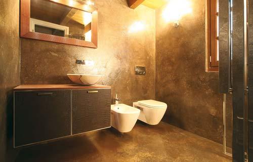 Bagno moderno wellness ed eleganza - Resina su piastrelle bagno ...