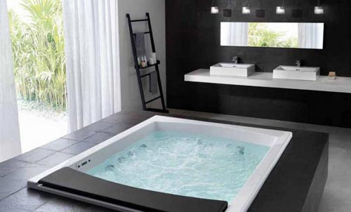 Bagni moderni con vasca angolare cerca con google lavabo in vetro