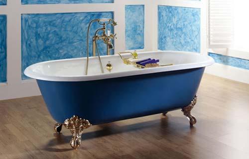 Vasche da bagno panoramica su tipi e materiali - Vasche da bagno retro ...