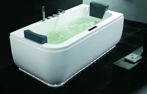 Vasche da bagno panoramica su tipi e materiali - Vasca bagno dimensioni ...