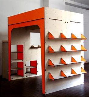 Letto soppalco bambini design decora la tua vita - Camera da letto soppalco ...