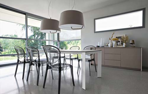 Beautiful illuminazione sala pranzo pictures house interior