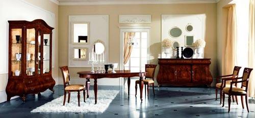 Sala da pranzo classica salotto living - Disposizione salotto sala pranzo ...