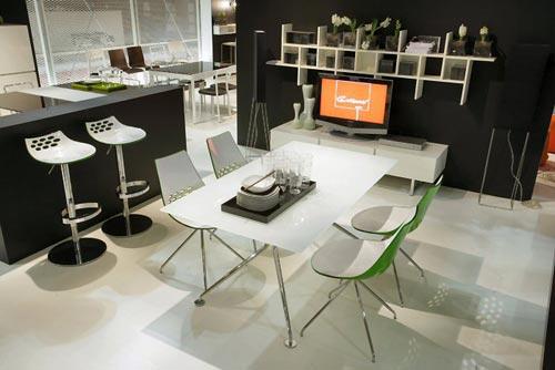 Sala da pranzo moderna for Foto di sale da pranzo moderne