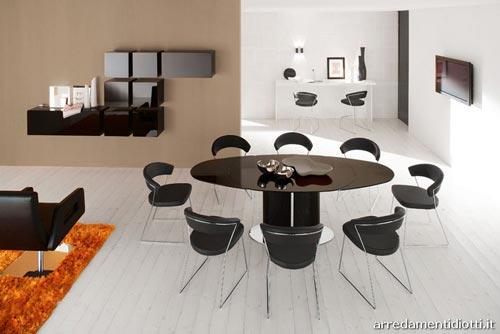 Sala da pranzo moderna for Colori per sala da pranzo