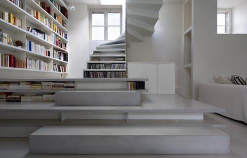 Portale casa in 3 mosse for Scala per libreria