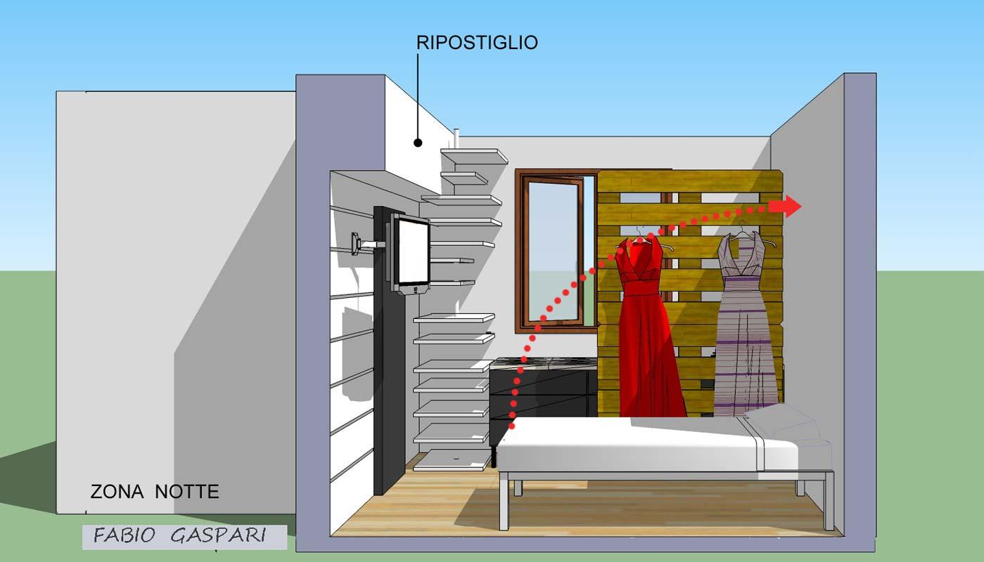 Arredare camera da letto 9 mq wn71 regardsdefemmes - Letto per monolocale ...