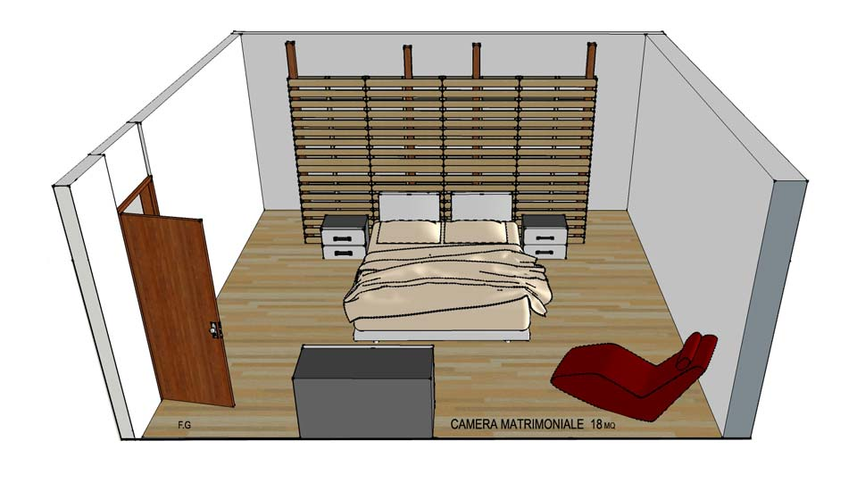 Cabina armadio economica in pallet for Cabina di legno