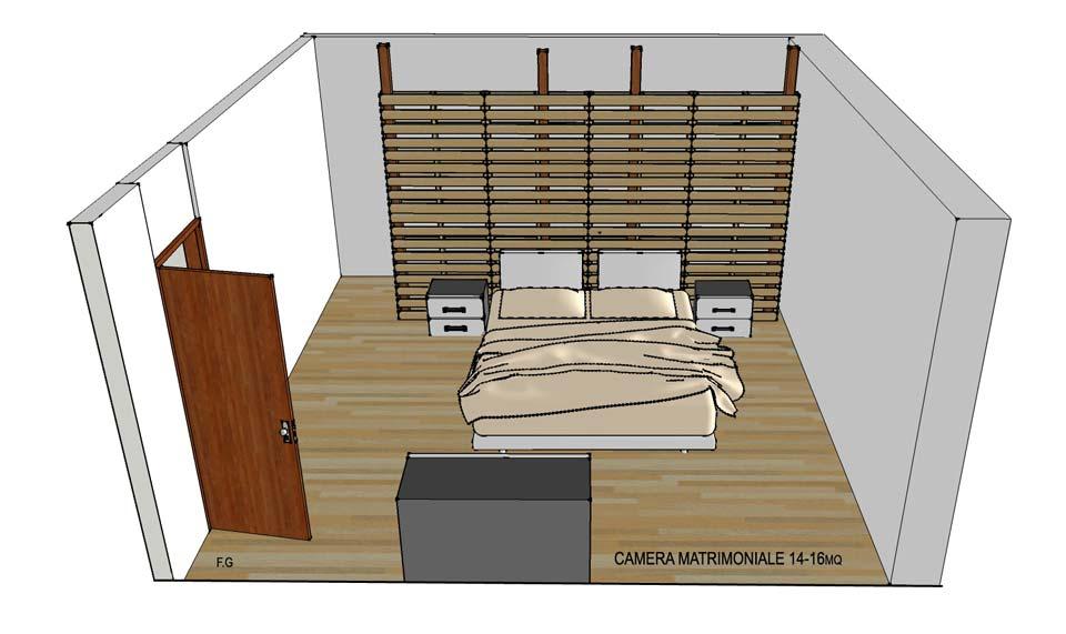 Cabina armadio economica in pallet for Come costruire una fondazione di cabina