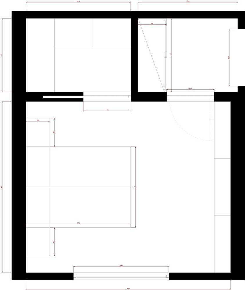 Progetto camera da letto idee di design per la casa - Tele per camera da letto ...