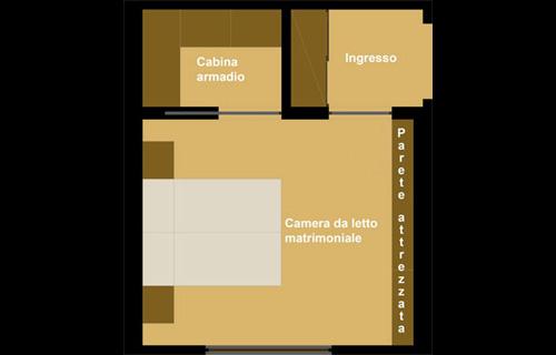 Portale casa in 3 mosse - Progetto camera da letto ...