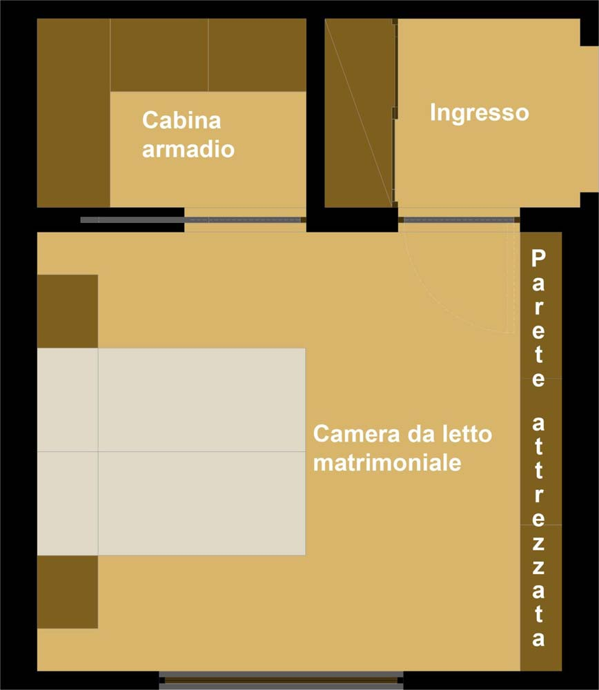 Progetta la tua camera marocchino stile tende fine design for Come progettare un layout di una stanza online gratuitamente