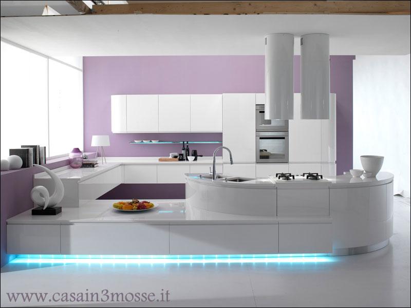 Casa immobiliare accessori cucina moderna con isola - Cucina moderna con penisola ...