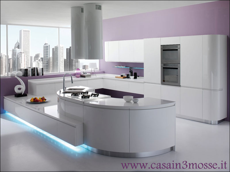 Cucine moderne - Cucine classiche con penisola ...
