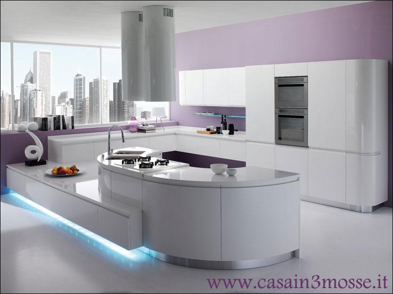 Cucine moderne - Penisola cucina moderna ...