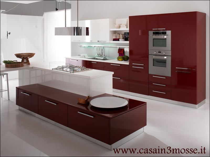 Cucine moderne colorate amazing ingrandisci luimmagine for Panciera arredamenti