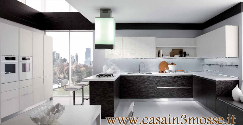 Stunning Cucina Con Isola Moderna Contemporary - Ideas & Design 2017 ...