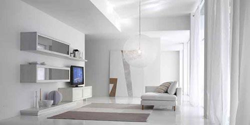 Arredamento in stile minimal for Arredamento moderno sala