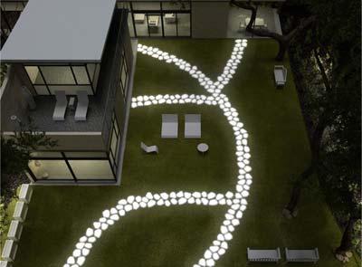 Lampade moderne da terra per esterno: illuminazioni led e design